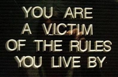 Saying - victim of