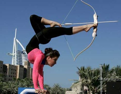 inverted archer