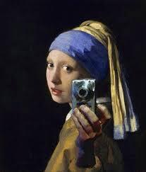 pearl selfie