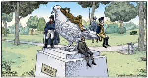 statue cartoon