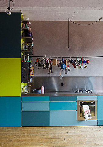 kitchen colorful