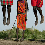 massai jumping